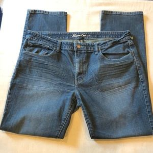 Kenneth Cole Straight Leg Jeans 36 x 32